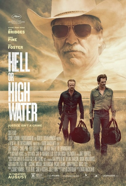 'Hell or High Water' movie poster