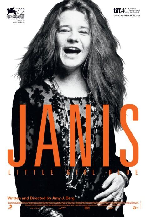 'Janis - Little Girl Blue' movie poster