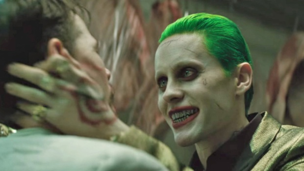 Jared Leto as the new Joker in 'Suicide Squad'
