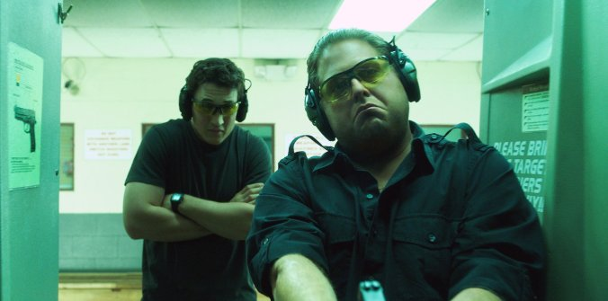 Jonah Hill and Miles Teller in 'War Dogs'