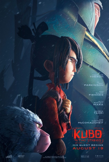 'Kubo and the Two Strings' movie poster
