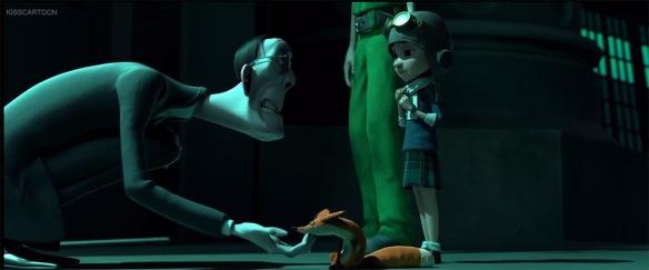 Paul Giamatti as the Academy teacher