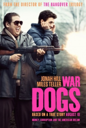 'War Dogs' movie poster