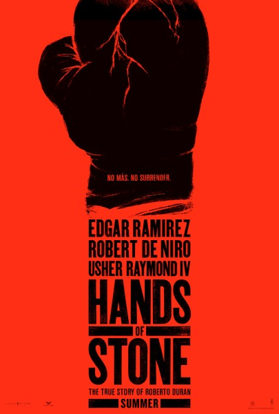 'Hands of Stone' movie poster