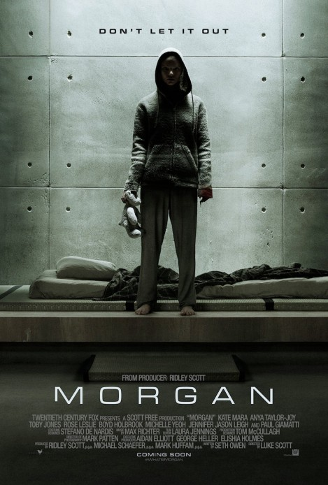 'Morgan' movie poster