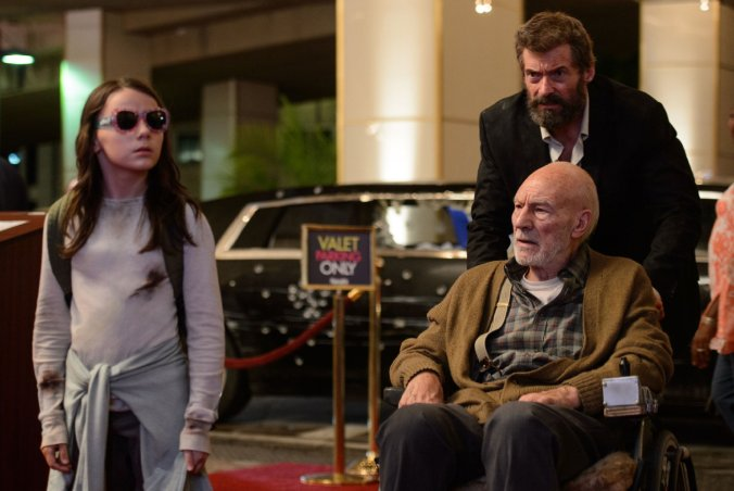 hugh-jackman-sir-patrick-stewart-and-dafne-keen-in-logan