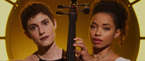 Allison Williams and Logan Browning in The Perfection